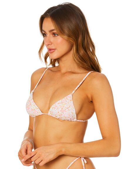 BLOSSOM FLORAL OUTLET WOMENS THE HIDDEN WAY BIKINI TOPS - H8212338BLSFL