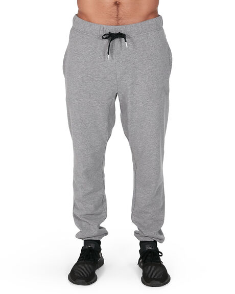 HEATHER GREY MENS CLOTHING RVCA PANTS - RV-R381277-H31