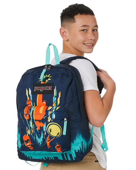 FAMILY CITYSCAPE KIDS BOYS JANSPORT BAGS + BACKPACKS - JS0A3P1FJS52U