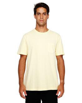 BRIGHT LEMON MENS CLOTHING RVCA TEES - RV-R181066-BT0