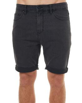 WORN BLACK MENS CLOTHING BILLABONG SHORTS - 9572710341