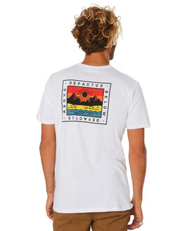 WHITE MENS CLOTHING DEPACTUS TEES - D5194002WHITE