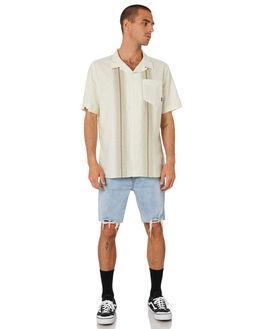 TIKI WHITE MENS CLOTHING THRILLS SHIRTS - TR9-205ATKWHT