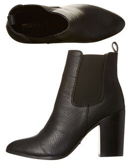 BLACK WOMENS FOOTWEAR BILLINI BOOTS - B796714