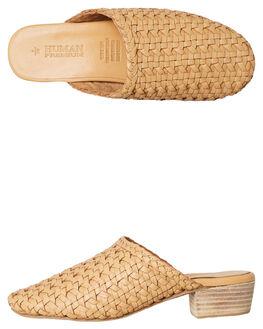 3e7f00d75104df NATURAL RAFFIA WOMENS FOOTWEAR HUMAN FOOTWEAR HEELS - JAZNRAFF