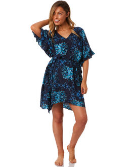INDIGO WOMENS CLOTHING SEAFOLLY FASHION TOPS - 53447-KAIND