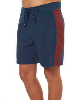 NAVY RED OUTLET MENS SWELL BOARDSHORTS - S5171244NVY