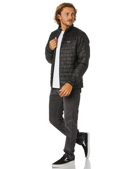 BLACK MENS CLOTHING PATAGONIA JACKETS - 84212BLK