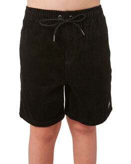 BLACK KIDS BOYS RUSTY SHORTS - WKB0313BLK