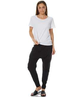 WASHED BLACK WOMENS CLOTHING ALL ABOUT EVE PANTS - 6493033WBLK