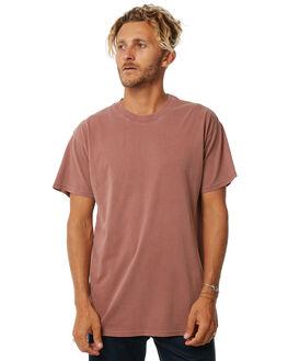 WASHED BRICK MENS CLOTHING BILLABONG TEES - 9572051WBRK