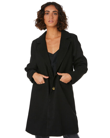 BLACK WOMENS CLOTHING THE FIFTH LABEL JACKETS - 40190619BLK
