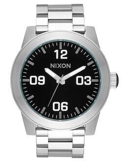 BLACK MENS ACCESSORIES NIXON WATCHES - A346000