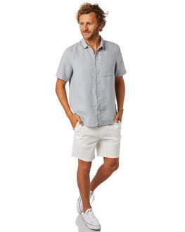 WHITE MENS CLOTHING ACADEMY BRAND SHORTS - 19S602WHI