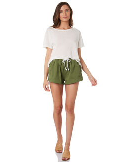 DARK SAGE OUTLET WOMENS SWELL SHORTS - S8188107DKSAGE
