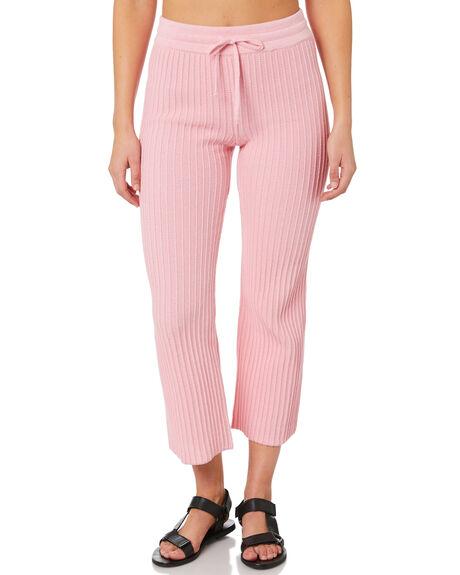 PINK WOMENS CLOTHING RUE STIIC PANTS - SW-20-K-12-P-CPNK
