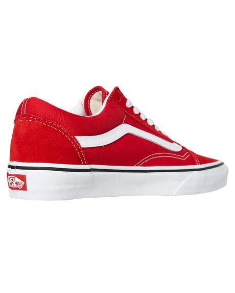 RACING RED MENS FOOTWEAR VANS SNEAKERS - SSVNA4BV5JV6M