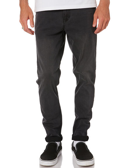 SMOKE MENS CLOTHING RES DENIM JEANS - RD-MPN18149SMK