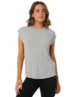 GREY MARLE WOMENS CLOTHING RUSTY TEES - TTL0950GMA