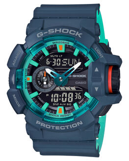 MATTE NAVY MENS ACCESSORIES G SHOCK WATCHES - GA-400CC-2ADRMNVY