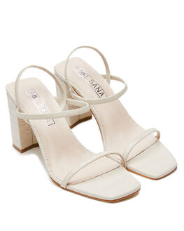 IVORY CROC WOMENS FOOTWEAR SOL SANA HEELS - SS201W338ICHOC