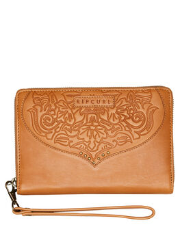 VINTAGE TAN WOMENS ACCESSORIES RIP CURL PURSES + WALLETS - LWLEK14689