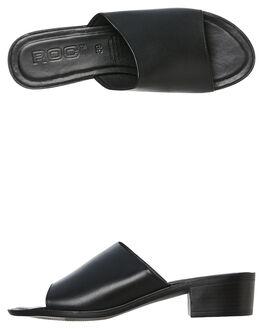 BLACK WOMENS FOOTWEAR ROC BOOTS AUSTRALIA HEELS - MARNIBLK