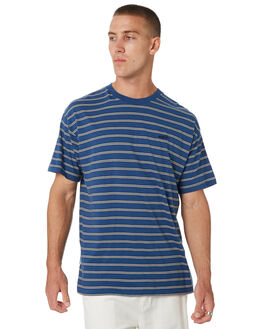 DUSTY NAVY MENS CLOTHING MISFIT TEES - MT095102DSNVY