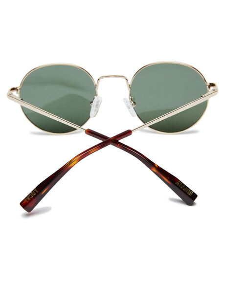 POLISHED GOLD MENS ACCESSORIES LOCAL SUPPLY SUNGLASSES - LONPGLD