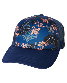 DEEP BLUE WOMENS ACCESSORIES BILLABONG HEADWEAR - 6682311DBL