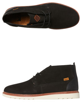 BLACK NATURAL MENS FOOTWEAR REEF BOOTS - A3626BLN