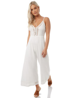 WHITE WOMENS CLOTHING ARNHEM PLAYSUITS + OVERALLS - ARMEJU01WHT
