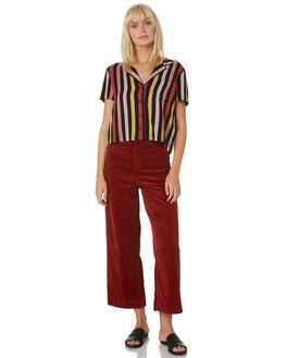 MULTI WOMENS CLOTHING VOLCOM FASHION TOPS - B0521900MLT