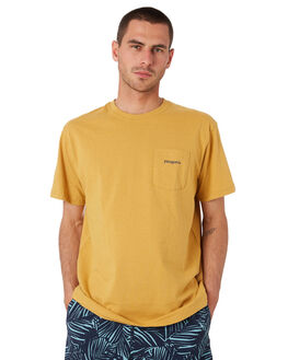 GLYPH GOLD MENS CLOTHING PATAGONIA TEES - 38441GPGO