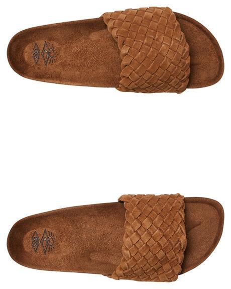 CHESTNUT WOMENS FOOTWEAR RIP CURL SLIDES - TGTC345101