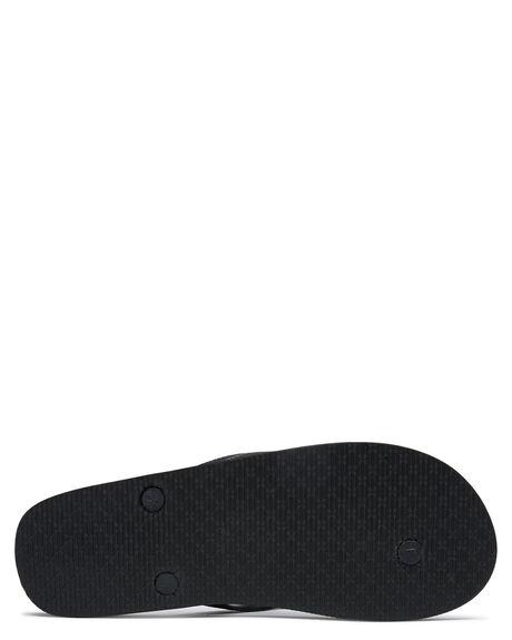 BLACK TAN MENS FOOTWEAR GLOBE THONGS - GBINDIE10176