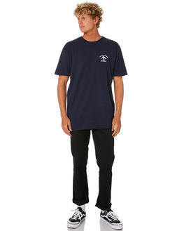 NAVY DEWBERRY MENS CLOTHING VANS TEES - VNA49L2NVY