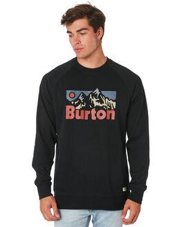 TRUE BLACK MENS CLOTHING BURTON JUMPERS - 196501001