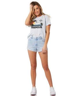 SUN FADE WOMENS CLOTHING WRANGLER SHORTS - W-951278-IW4