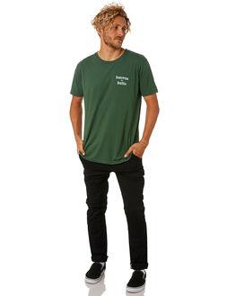 BLACK MENS CLOTHING KATIN PANTS - PASTA00BLK