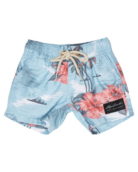 BLUE RED KIDS BOYS RIP CURL BOARDSHORTS - OBOMX10875