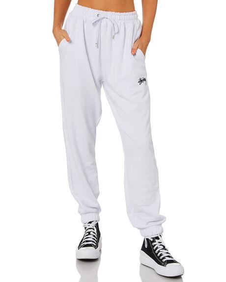 WHITE WOMENS CLOTHING STUSSY PANTS - ST1M0188WHT