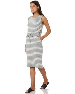 SILVER MARLE WOMENS CLOTHING BETTY BASICS DRESSES - BB223S18SIL