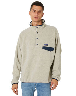 OATMEAL HEATHER MENS CLOTHING PATAGONIA JUMPERS - 25580OAT