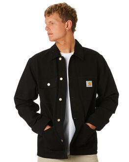 BLACK MENS CLOTHING CARHARTT JACKETS - I02648089
