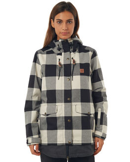 OS BUFFALO PLAID BOARDSPORTS SNOW DC SHOES WOMENS - EDJTJ03025KRP2