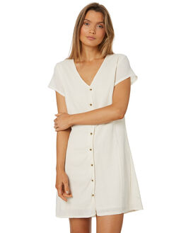 NATURAL WOMENS CLOTHING THRILLS DRESSES - WTS8-904ANAT