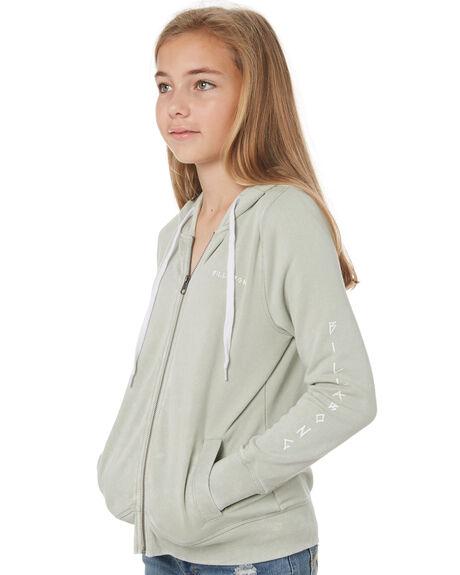MINERAL GREEN KIDS GIRLS BILLABONG JUMPERS + JACKETS - 5595732MNG