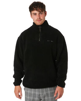 MERCH BLACK MENS CLOTHING THRILLS JUMPERS - TA9-210MBMCBLK