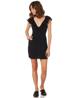 BLACK WOMENS CLOTHING MINKPINK DRESSES - MP1806560BLACK